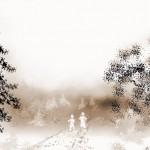 зимнем поле.Сепия 150x150 - Компьютерные рисунки