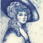 в шляпке 150x150 - Ориг.рисунки