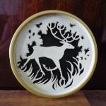 Рамы с оленем 150x150 - Нерисованные работы