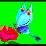 бабочка 150x150 - Компьютерные рисунки
