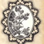 №0002. Деревце в рамке 150x150 - Альбом №3