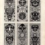 №0014. Ацтекские орнаменты 150x150 - Альбом №3