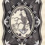 №0028. Птичка в рамке 150x150 - Альбом №3