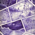 .023. Ландшафты 150x150 - Альбом №2