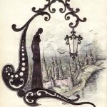 .045. Буквица C 150x150 - Альбом №2
