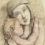 .053. Мадонна с младенцем 150x150 - Альбом №2
