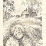 .061.Деревенский пейзаж 150x150 - Альбом №2