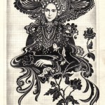 .062. Дама в шляпке 150x150 - Альбом №2
