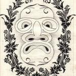 .080. Морда в рамке 150x150 - Альбом №2