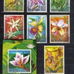 на марках. Лист 001 100 150x150 - Флора I (Орхидеи)
