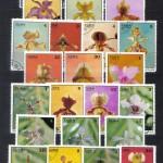 на марках. Лист 002 110 150x150 - Флора I (Орхидеи)