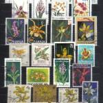 на марках. Лист 009 285 150x150 - Флора I (Орхидеи)