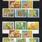на марках. Лист 014 50 150x150 - Флора I (Орхидеи)
