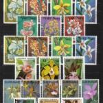на марках. Лист 015 230 150x150 - Флора I (Орхидеи)
