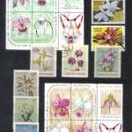 на марках. Лист 018 155 150x150 - Флора I (Орхидеи)