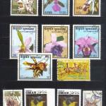 на марках. Лист 019 95 150x150 - Флора I (Орхидеи)