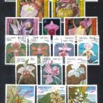 на марках. Лист 020 220 150x150 - Флора I (Орхидеи)