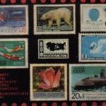 марки на открытках 0008 2 шт 150x150 - Почтовые марки на открытках