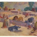 Аракелян С.А У родника 150x150 - Советские художники и зарубежья