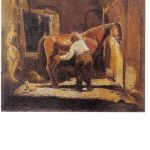 Бажбеук Меликян А.А Дворик на Песках. Тифлис 150x150 - Советские художники и зарубежья