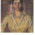 Бажбеук Меликян А.А Портрет Лавинии 150x150 - Советские художники и зарубежья