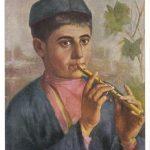 Беридзе А.Л мальчик играющий на свирели 150x150 - Советские художники и зарубежья
