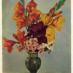 Букет гладиолусов с флоксами 150x150 - Цветы