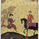 Витязь в тигровой шкуре. Иллюстрация 3 150x150 - Неизвестные художники