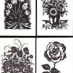 Вырезки цветов № 0013 0016 150x150 - Цветы