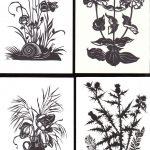 Вырезки цветов № 0021 0024 150x150 - Цветы