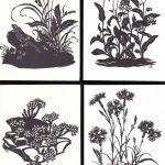 Вырезки цветов № 0025 0028 150x150 - Цветы