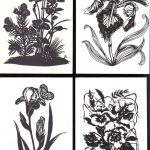 Вырезки цветов № 0029 0032 150x150 - Цветы