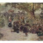 Габаашвили Г.И Хевсуры на храмовом празднике Алавердоба 150x150 - Советские художники и зарубежья