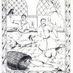 Гудиашвили В.Д Иллюстрация к Мудрости вымыса Орбелиани 150x150 - Советские художники и зарубежья