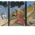 Гудиашвили В.Д Охота. Ласка лани. У ручейка 150x150 - Советские художники и зарубежья