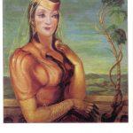 Гудиашвили В.Д Портрет Мананы Шатадзе 150x150 - Советские художники и зарубежья