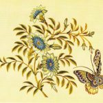Деталь вышивки на китайской шали 3  150x150 - Бабочки