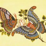 Деталь вышивки на китайской шали 5  150x150 - Бабочки