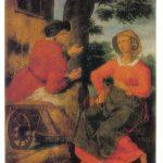 Жанровая сцена 150x150 - Неизвестные художники