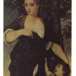 Женщина с мальчиком 150x150 - Неизвестные художники