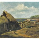 Крестьянский дворик 150x150 - Неизвестные художники