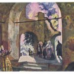 Кустодиев Борис Михайлович Гроза. Эскиз декорции 150x150 - Кустодиев Борис Михайлович