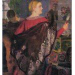 Кустодиев Борис Михайлович Купчиха с зеркалом 150x150 - Кустодиев Борис Михайлович