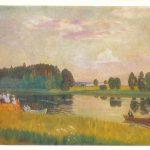 Кустодиев Борис Михайлович Лесное озеро 150x150 - Кустодиев Борис Михайлович