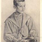 Кустодиев Борис Михайлович Портрет Мити Шостаковича 150x150 - Кустодиев Борис Михайлович