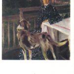 Кустодиев Борис Михайлович Портрет жены художника 150x150 - Кустодиев Борис Михайлович