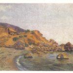 Магдесян Э.Я Вид морского побережья 150x150 - Советские художники и зарубежья