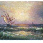 Магдесян Э.Я Вид моря с парусными лодками 150x150 - Советские художники и зарубежья