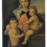 Мадонна с младенцем Христом и Иоанном 150x150 - Неизвестные художники
