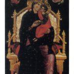 Мадонна с младенцем на троне 150x150 - Неизвестные художники